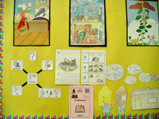 traditional stories display