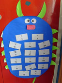 hugh frequency words display